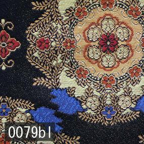 Japanese woven fabric Kinran  0079bl