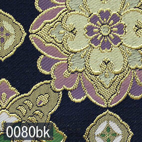 Japanese woven fabric Kinran  0080bk