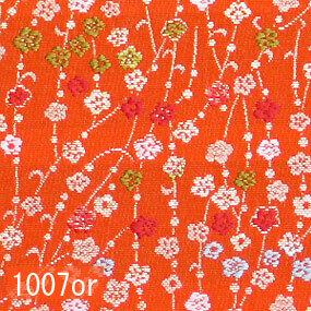 Japanese woven fabric Kinran  1007or