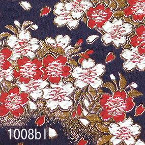 Japanese woven fabric Kinran  1008bl
