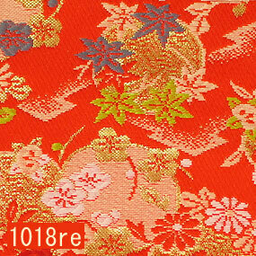 Japanese woven fabric Kinran  1018re