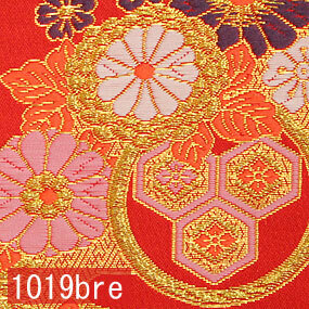 Japanese woven fabric Kinran  1019bre