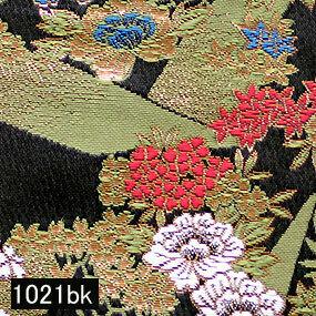 Japanese woven fabric Kinran  1021bk
