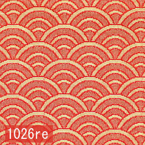 Japanese woven fabric Kinran  1026re