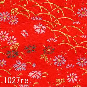 Japanese woven fabric Kinran  1027re