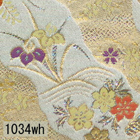 Japanese woven fabric Kinran  1034wh