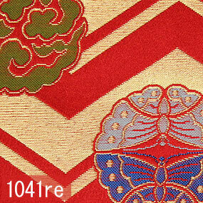 Japanese woven fabric Kinran  1041re
