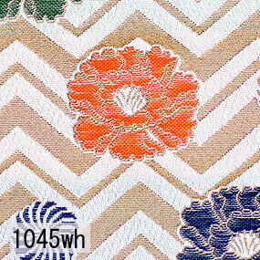 Japanese woven fabric Kinran  1045wh