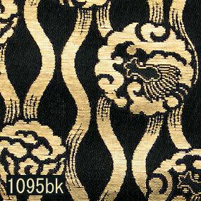 Japanese woven fabric Kinran  1095bk