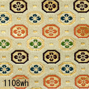 Japanese woven fabric Kinran  1108wh