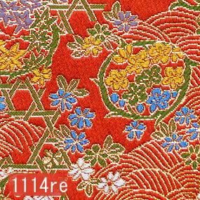 Japanese woven fabric Kinran  1114re
