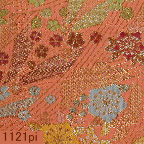 Japanese woven fabric Kinran  1121pi