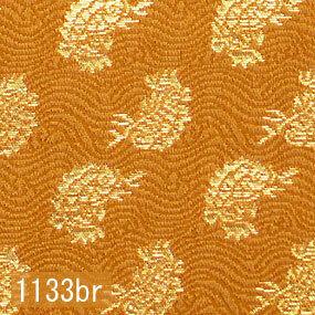 Japanese woven fabric Kinran  1133br