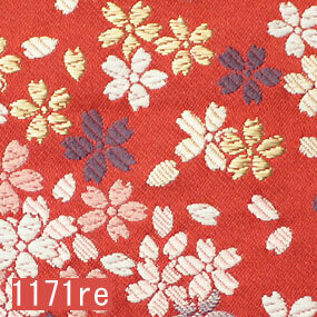 Japanese woven fabric Kinran  1171re
