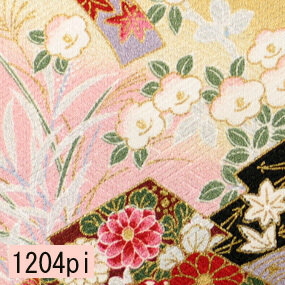 Japanese woven fabric Yuzen  1204pi