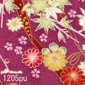 Japanese woven fabric Yuzen  1205pu