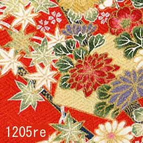 Japanese woven fabric Yuzen  1205re