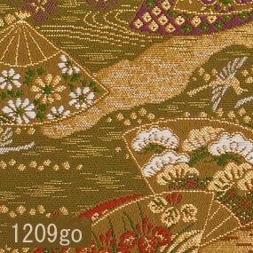 Japanese woven fabric Kinran  1209go
