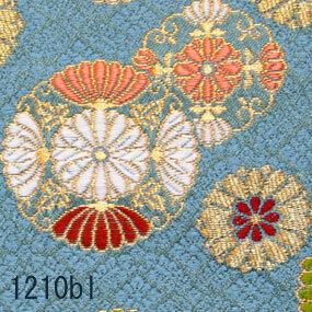Japanese woven fabric Kinran  1210bl