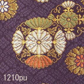 Japanese woven fabric Kinran  1210pu
