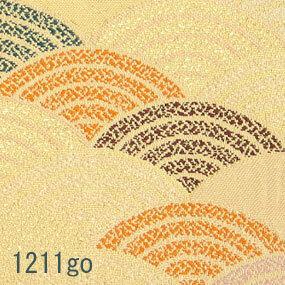 Japanese woven fabric Kinran  1211go