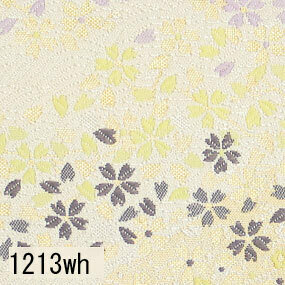 Japanese woven fabric Kinran  1213wh