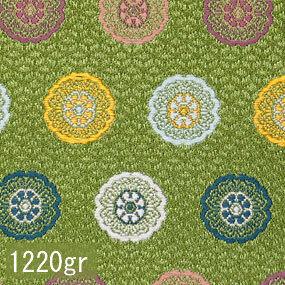 Japanese woven fabric Kinran  1220gr