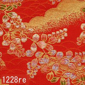 Japanese woven fabric Kinran  1228re