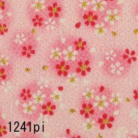 Japanese woven fabric Chirimen  1241pi