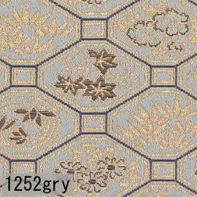 Japanese woven fabric Kinran  1252gry