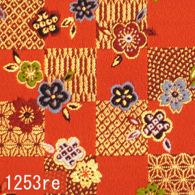 Japanese woven fabric Kinran  1253re