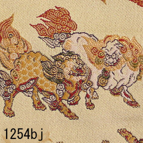 Japanese woven fabric Kinran  1254bj