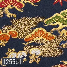 Japanese woven fabric Kinran  1255bl