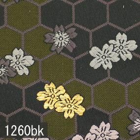 Japanese woven fabric Kinran  1260bk