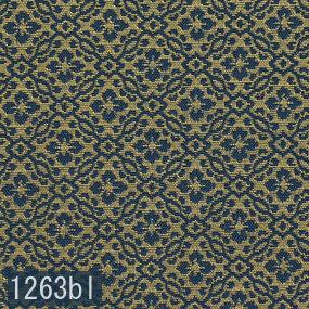 Japanese woven fabric Kinran  1263bl