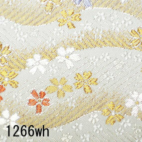 Japanese woven fabric Kinran  1266wh