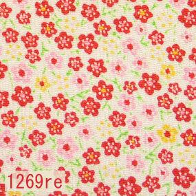 Japanese woven fabric Chirimen  1269re