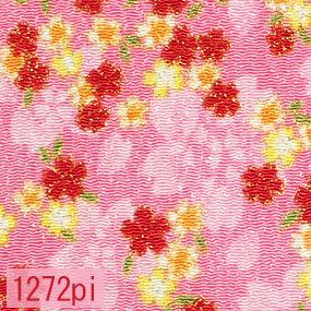 Japanese woven fabric Chirimen  1272pi