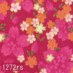 Japanese woven fabric Chirimen  1272rs