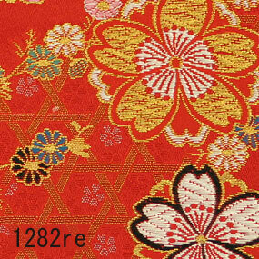 Japanese woven fabric Kinran  1282re