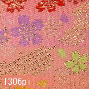 Japanese woven fabric Kinran  1306pi