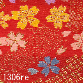 Japanese woven fabric Kinran  1306re