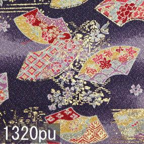 Japanese woven fabric Yuzen  1320pu