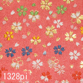 Japanese woven fabric Kinran  1328pi