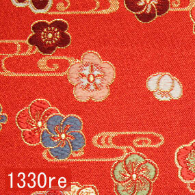 Japanese woven fabric Kinran  1330re