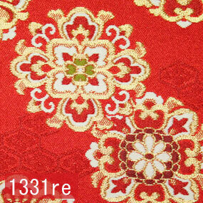Japanese woven fabric Kinran  1331re