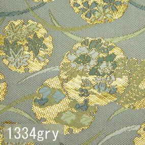 Japanese woven fabric Kinran  1334gry