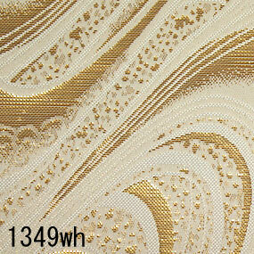 Japanese woven fabric Kinran  1349wh