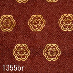 Japanese woven fabric Kinran  1355br