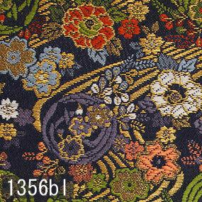 Japanese woven fabric Kinran  1356bl